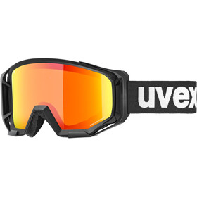UVEX Athletic Colorvision Goggles, black/mirror orange